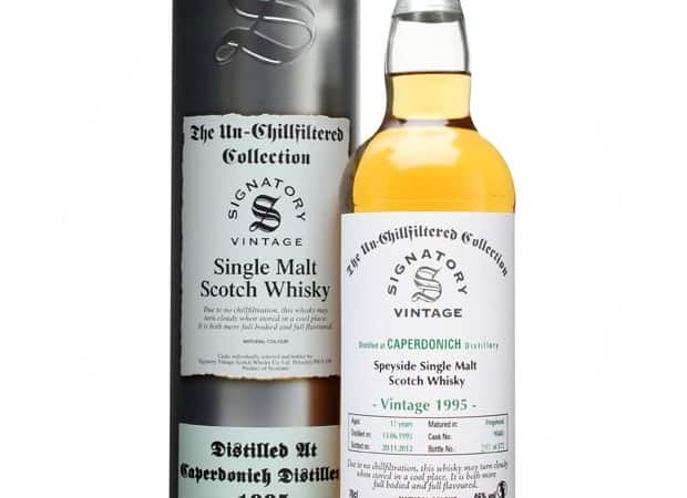 Signatory Caperdonich 1995 - 17 Year Old / Cask #95043