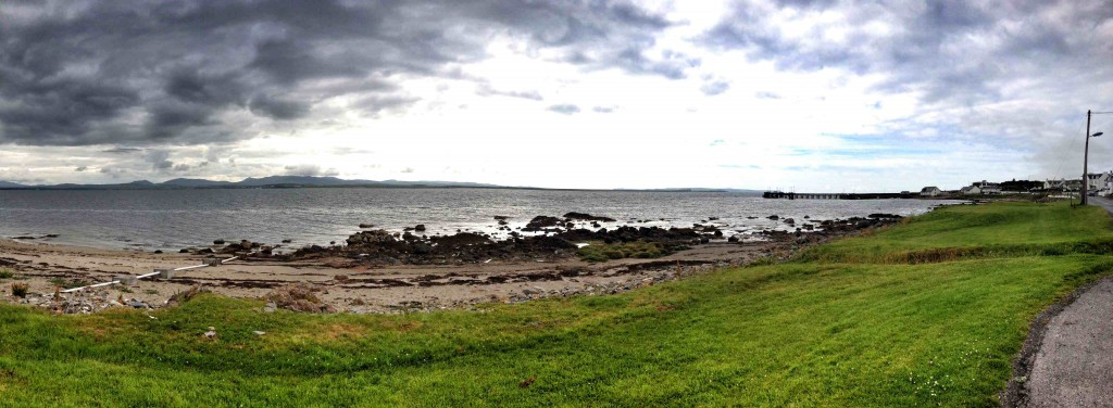 The view from Bruichladdich