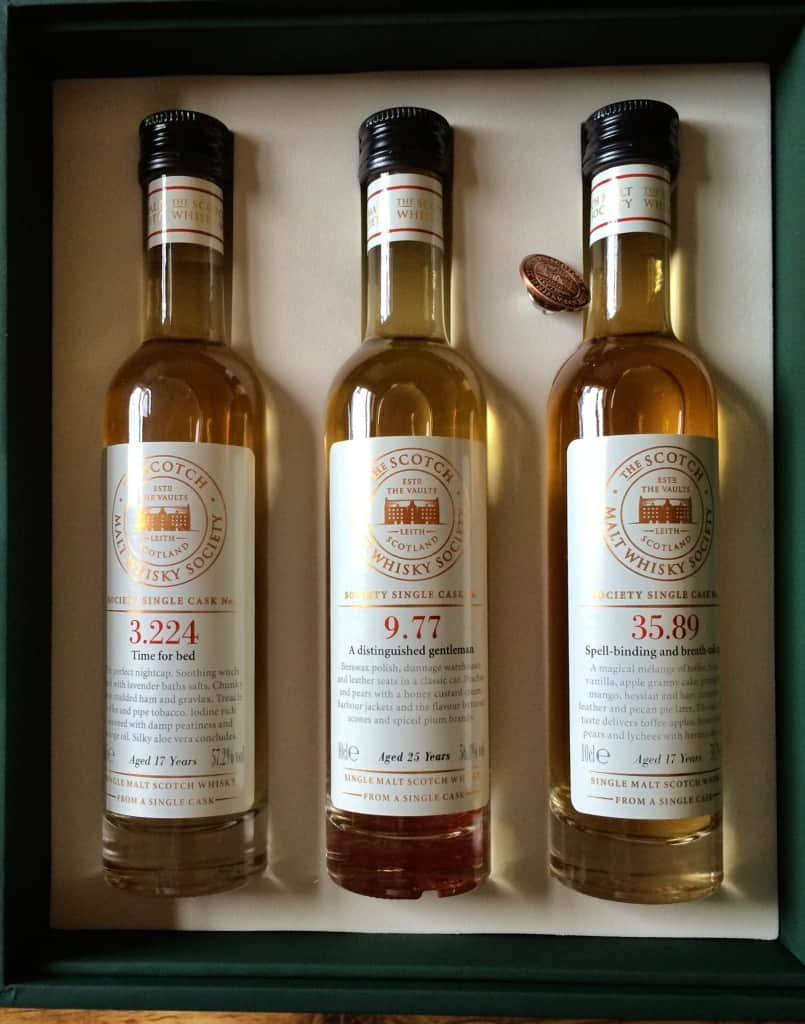 Single cask whiskies