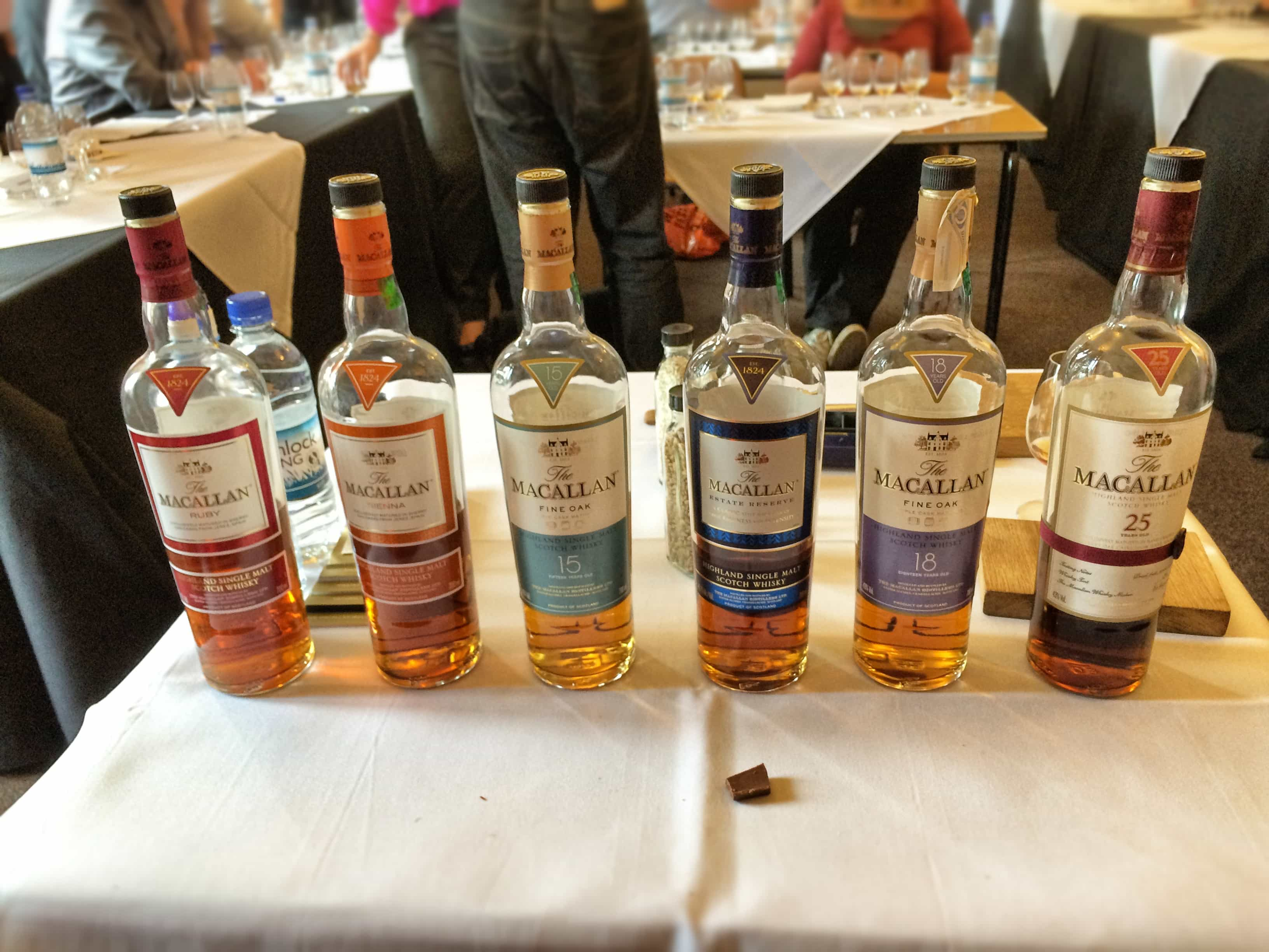 More Macallans at the masterclass
