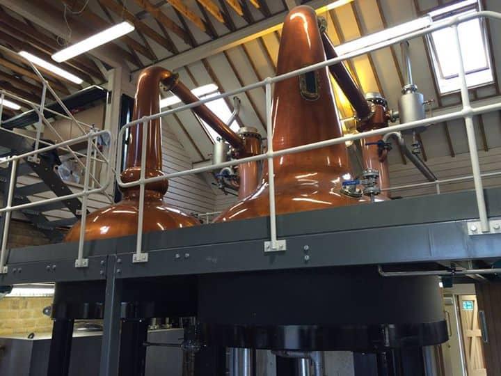 Cotswolds Distillery Stills