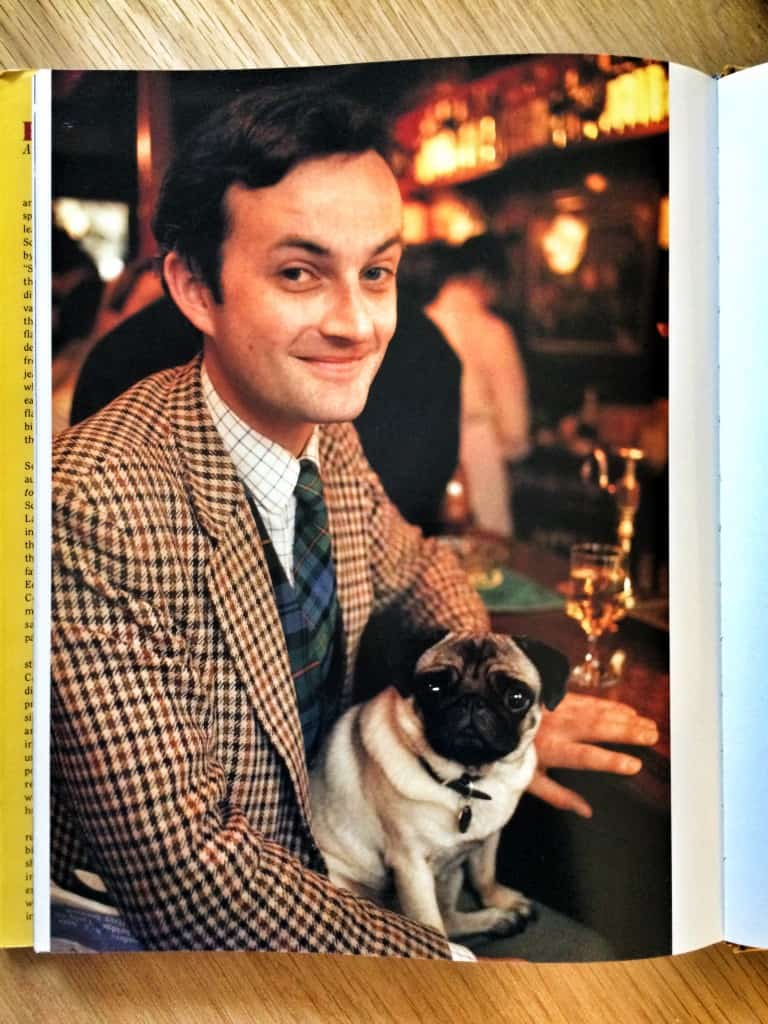 Whisky drinker and pug