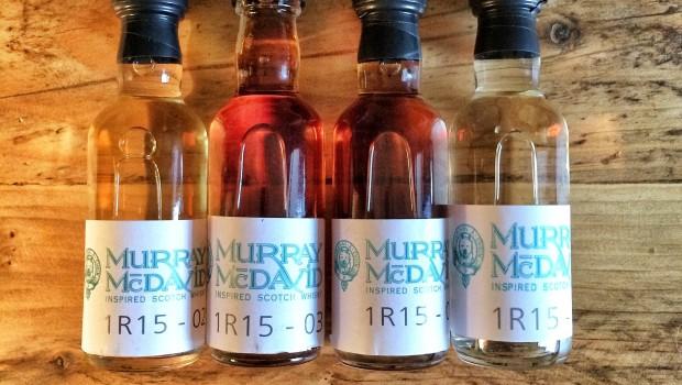 Murray McDavid single casks samples