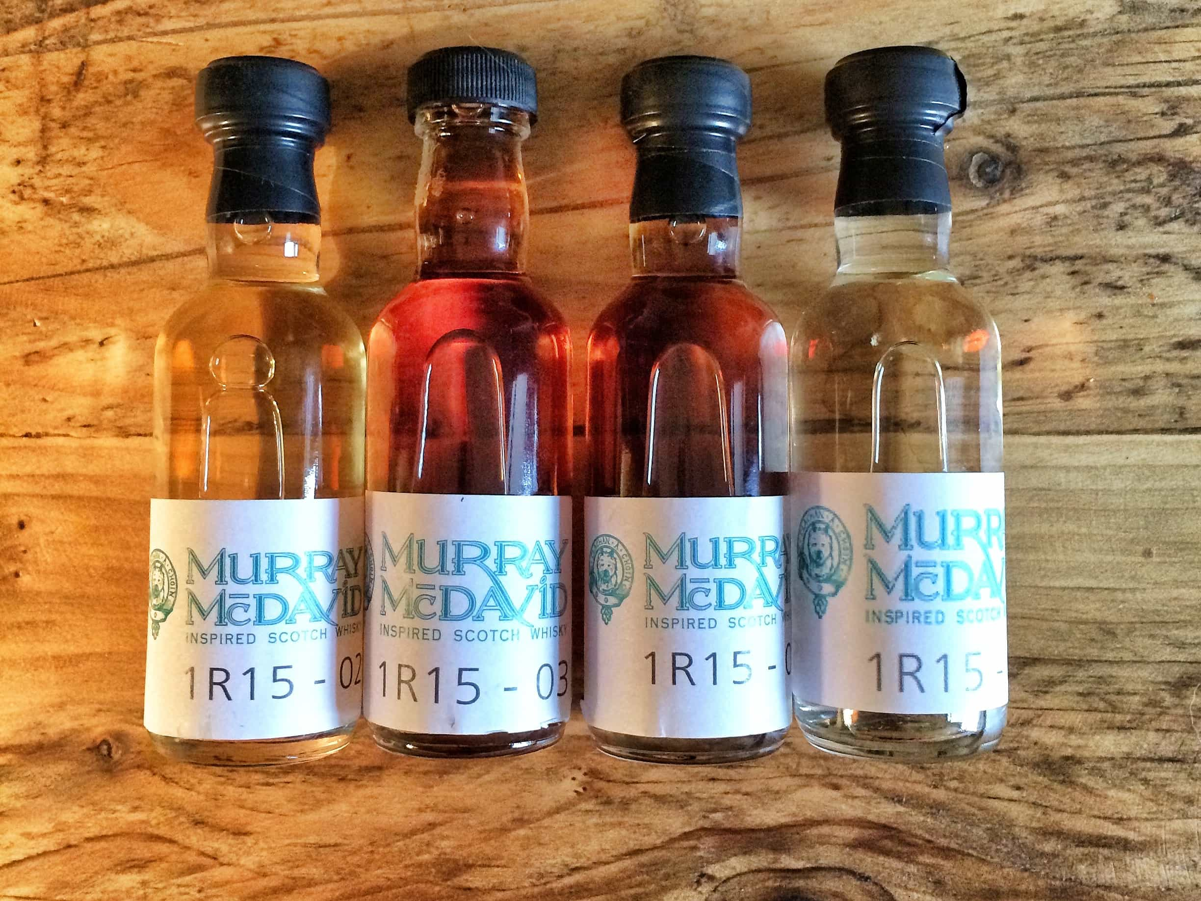 Murray McDavid single casks samples