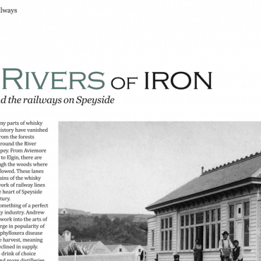 article in whisky magazine