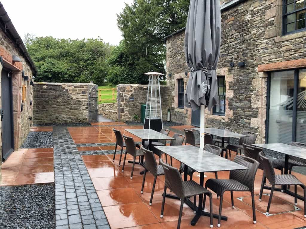 Courtyard - Lakes Distillery