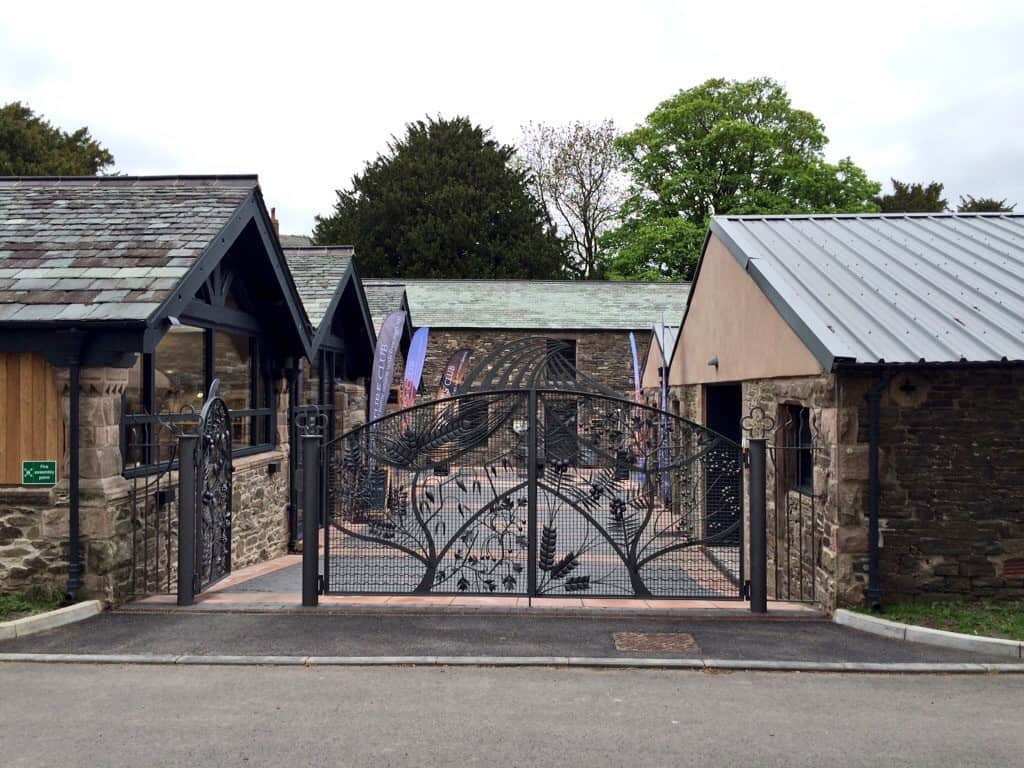 Entrance to Lakes distillery