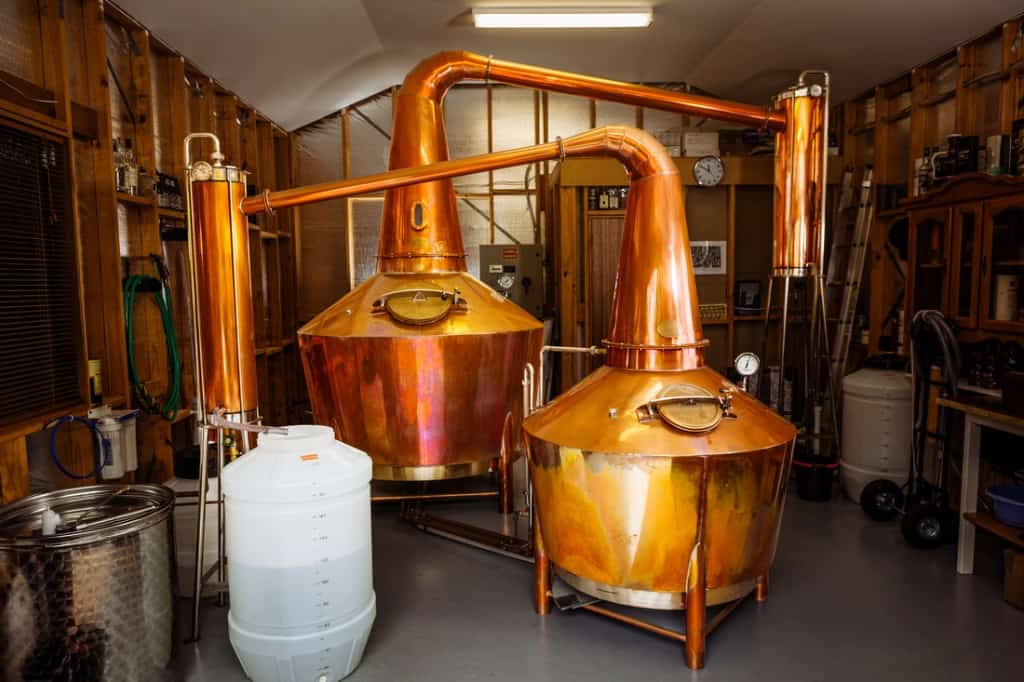 Overeem distillery stills