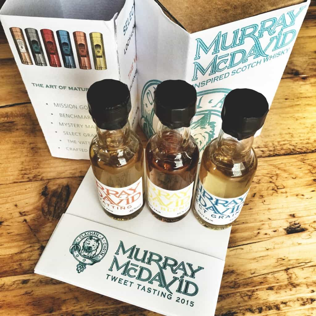 Murray McDavid whiskies