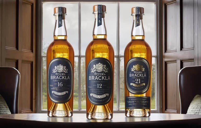 Royal Brackla whiskies