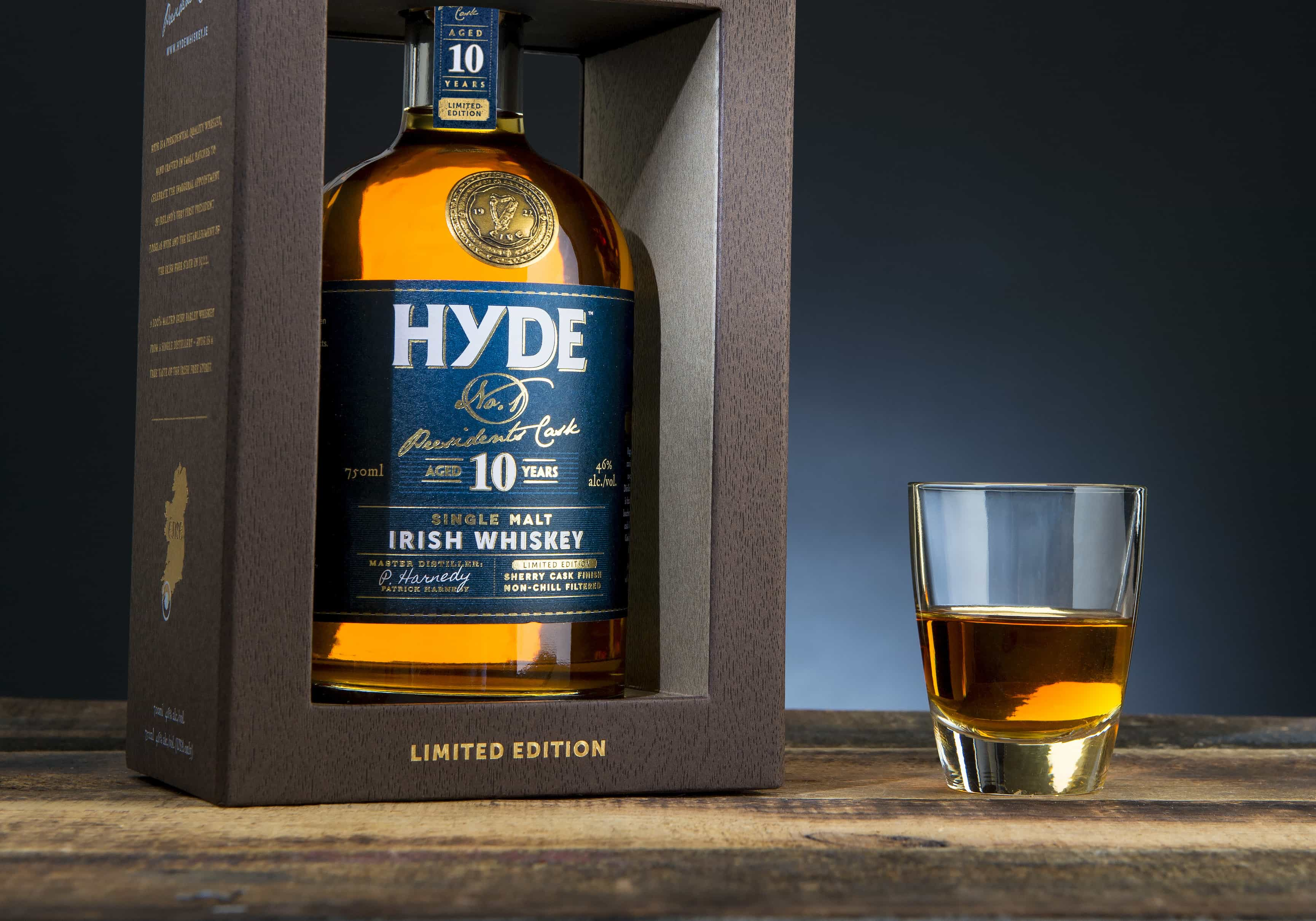 hyde 10 year old single malt