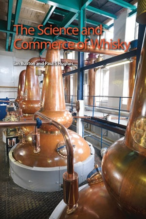 book cover: Science and commerce of whisky