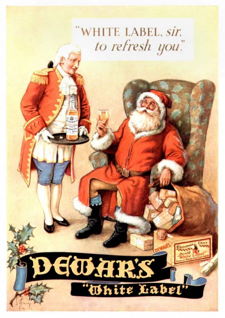 Dewars poster