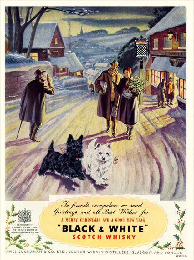 Vintage christmas advert