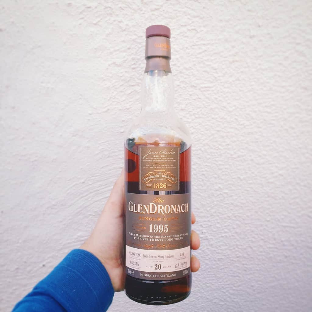 Glendronach - colour