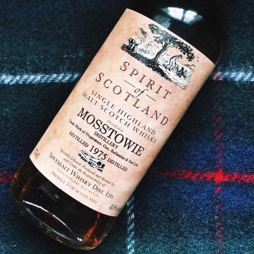 Mosstowie bottle