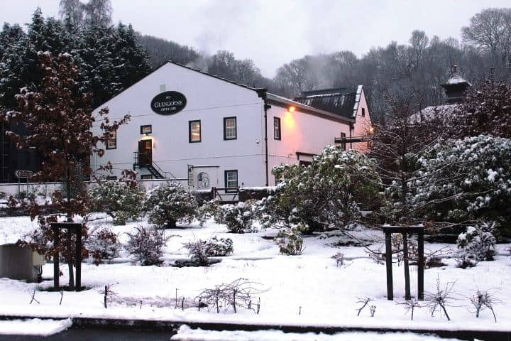 Glengoyne in the snow