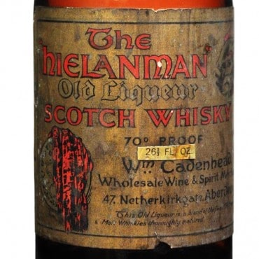 Hielanman Old Liqueur Scotch Whisky