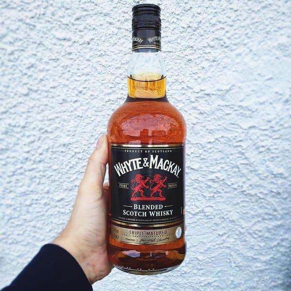 Whyte & Mackay bottle