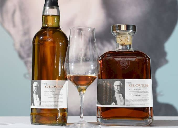 The Glover whiskies