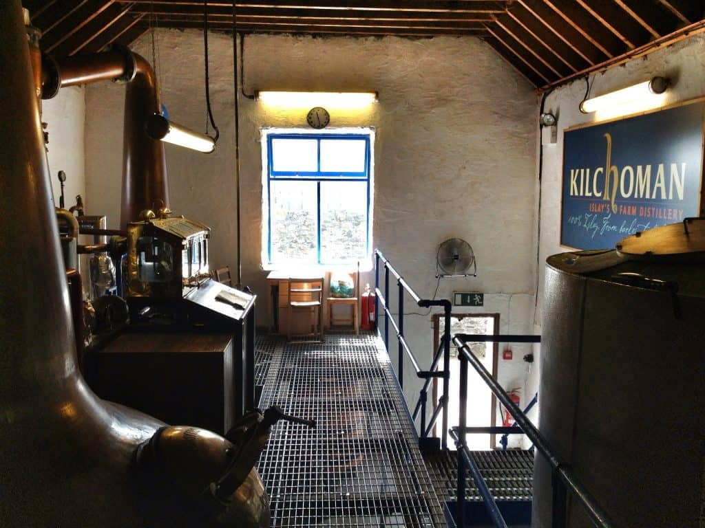 Inside Kilchoman