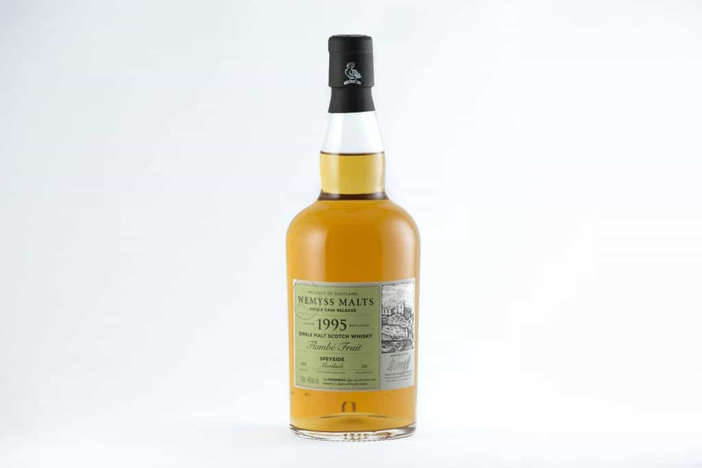 """Flambé Fruit"" 1995 (20 yo) single cask from Mortlach Distillery"