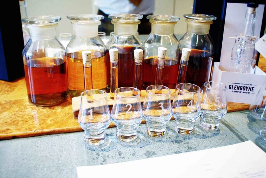 Glengoyne samples