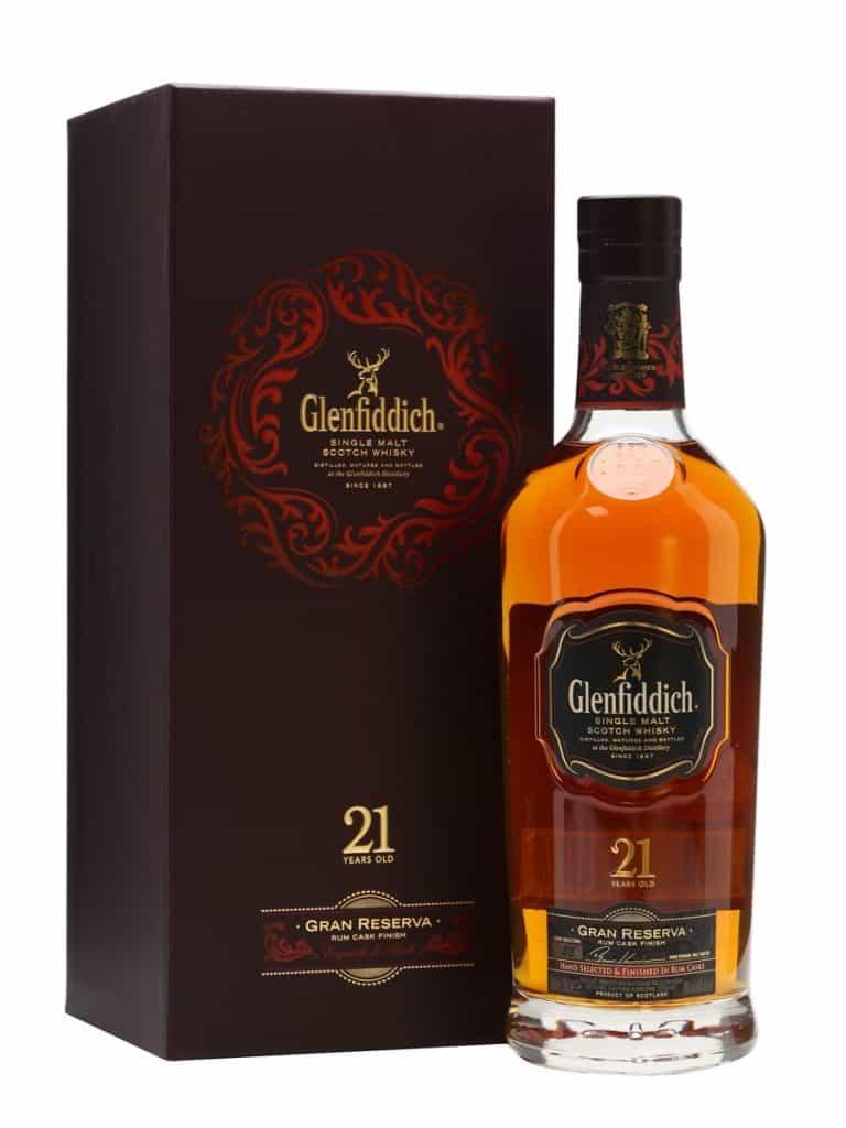 glenfiddich 21 rum