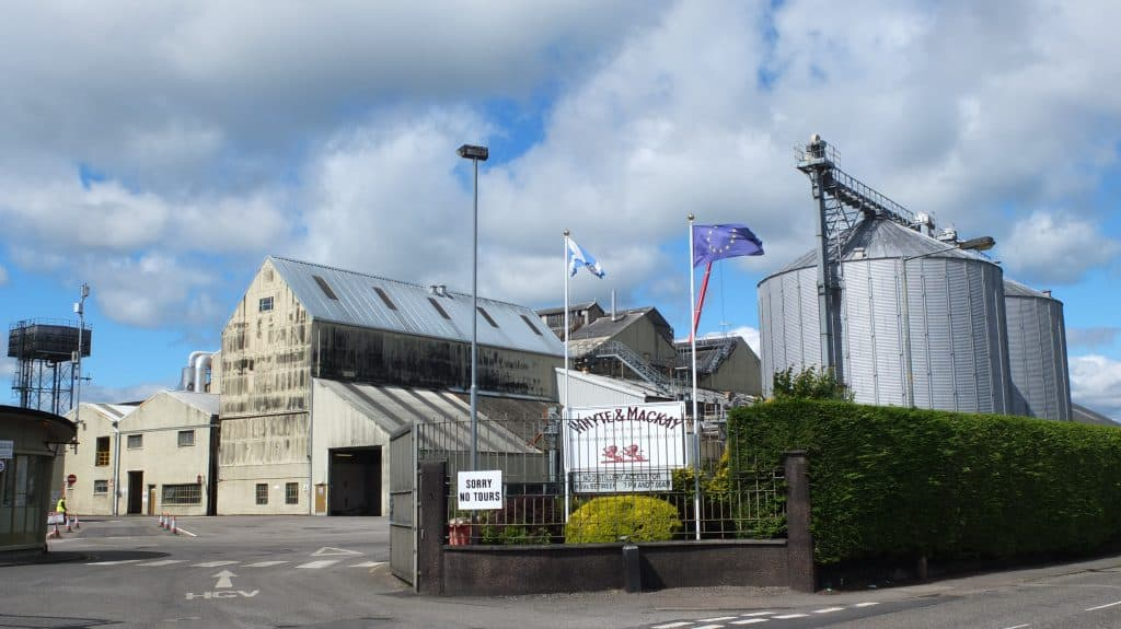 Whyte And Mackay Distillery Tour