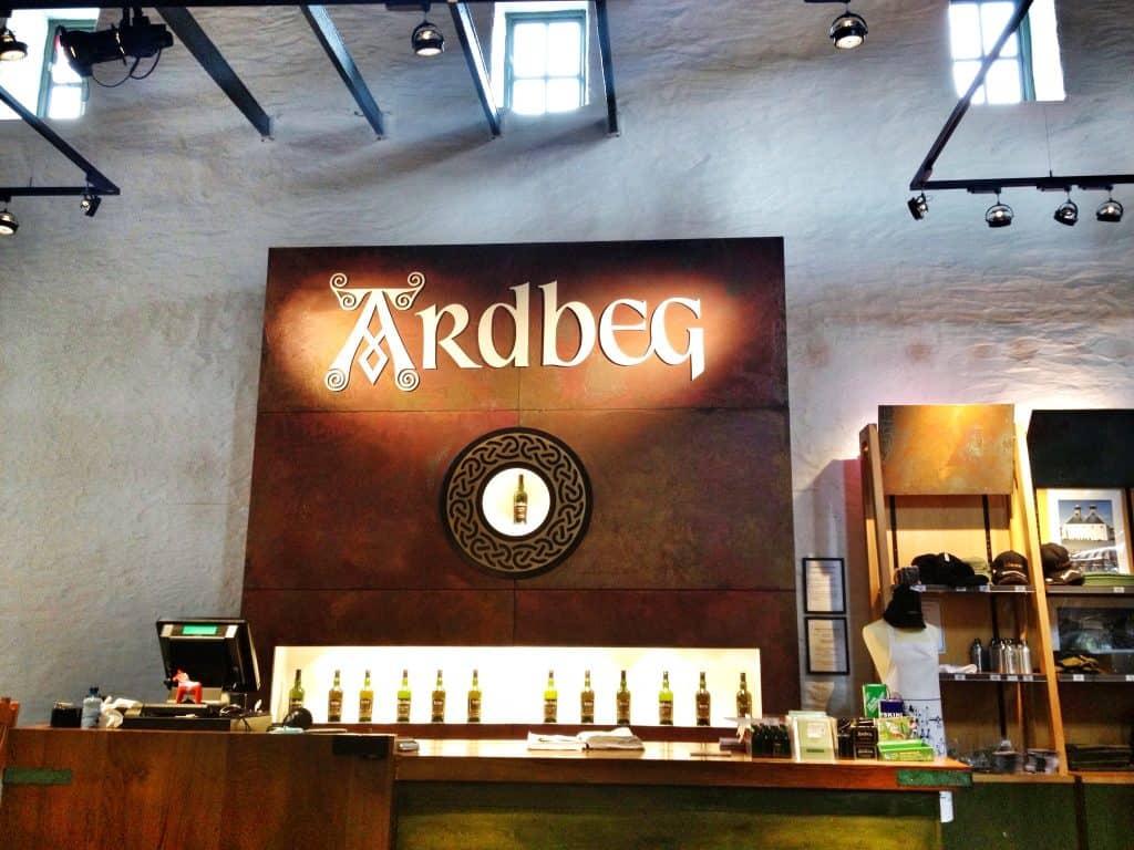 Ardbeg shop
