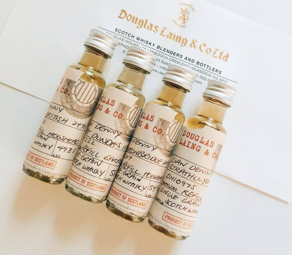 Douglas Laing Clan Denny whiskies