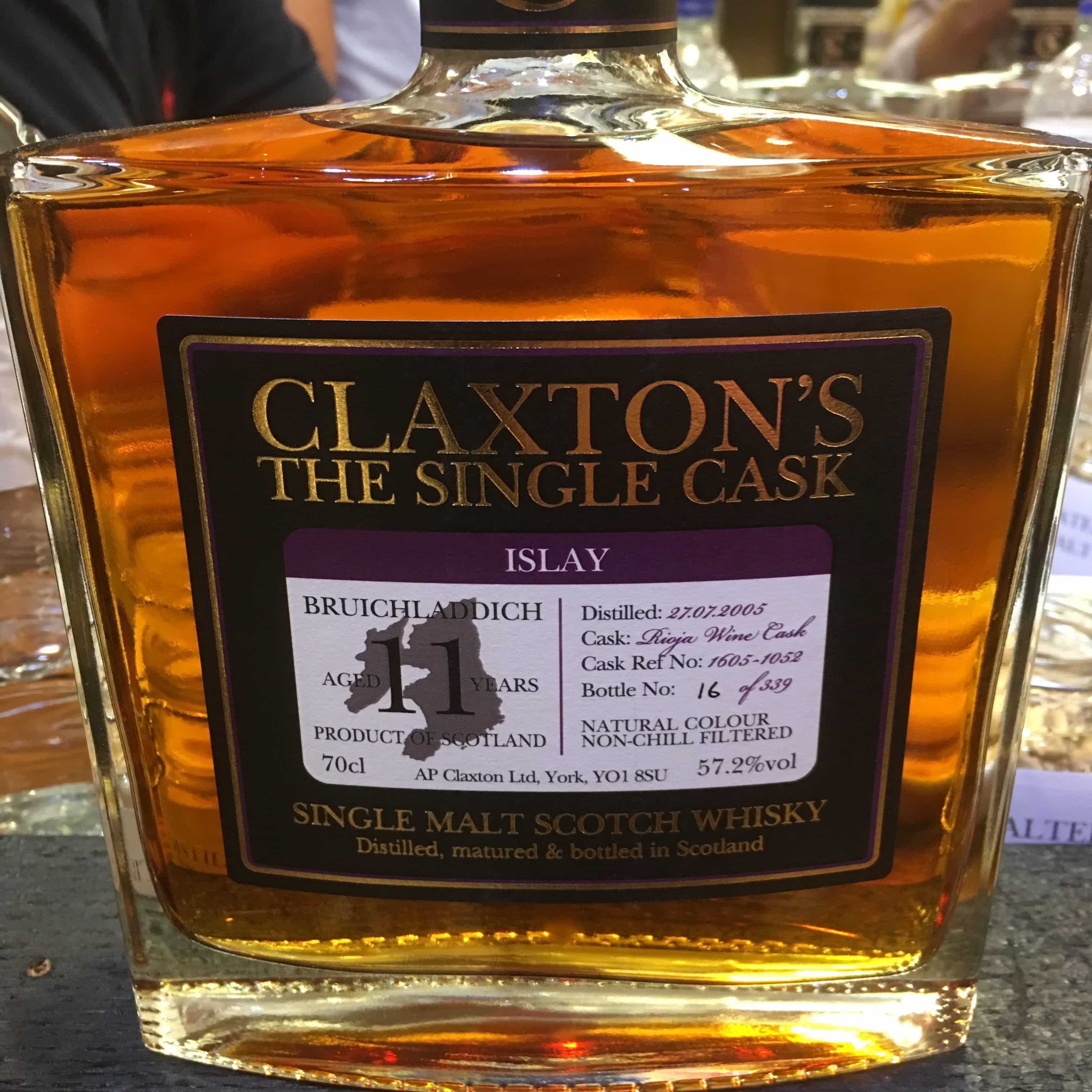Claxton's Bruichladdich 11
