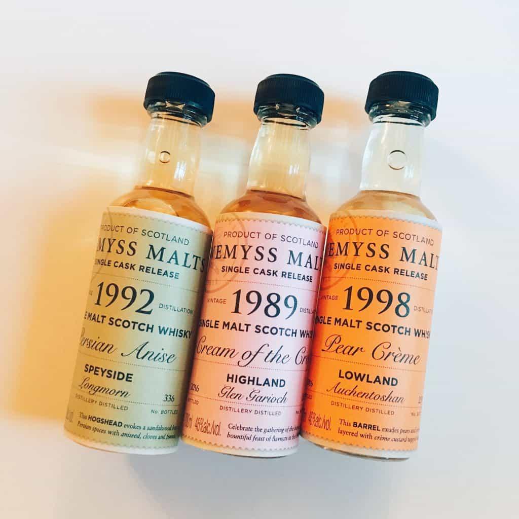 Wemyss Malts whiskies