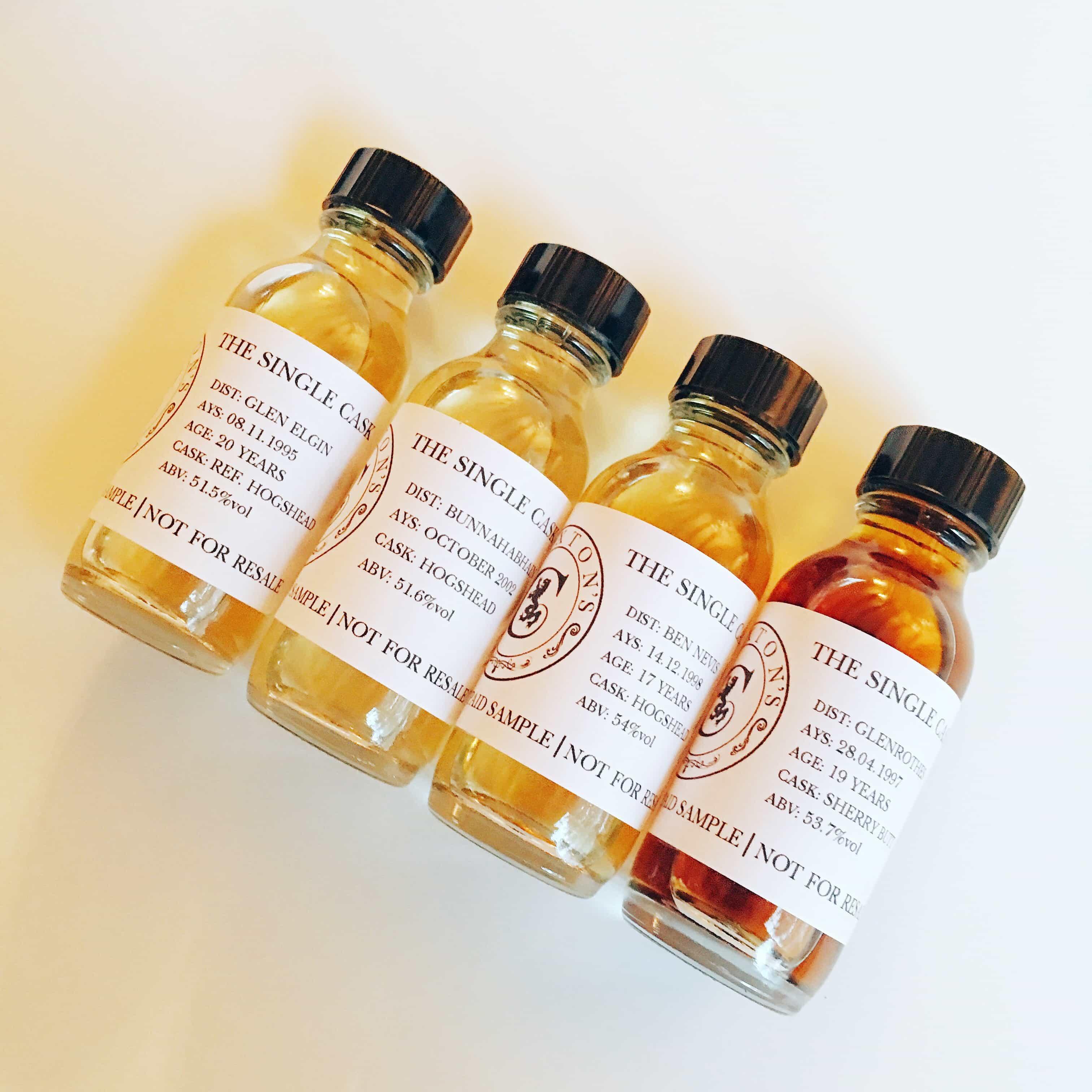 4 claxton's whiskies
