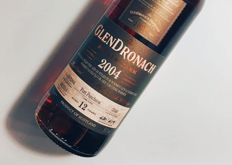 GlenDronach 12 Year Old Single Cask Port Puncheon