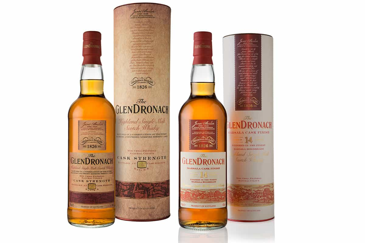 Glendronach bottles