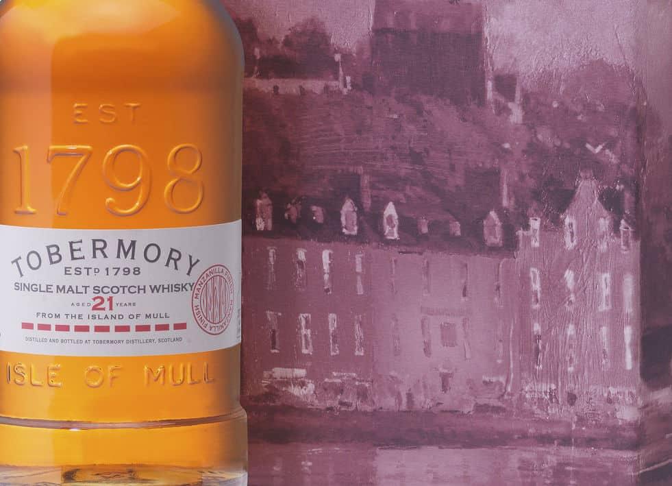 Tobermory 21 label