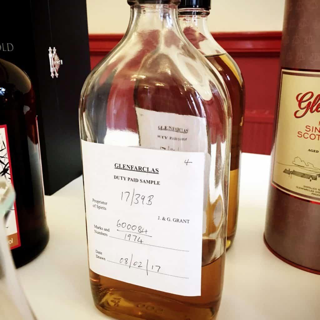 Glenfarclas 40 year old cask sample