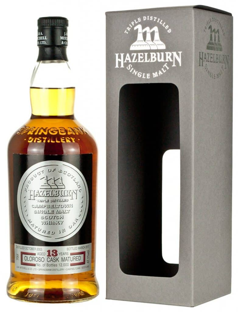 Hazelburn 13 Year Old Oloroso
