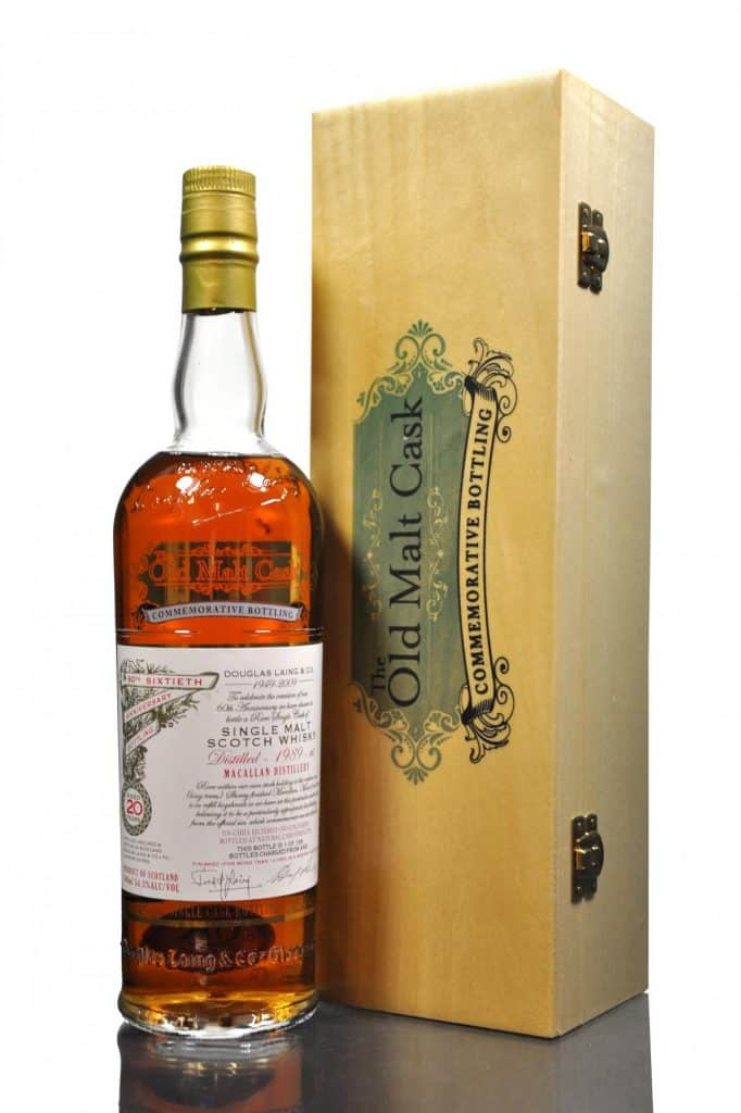 Macallan 1989 - 20 Year Old - Old Malt Cask 60th Anniversary