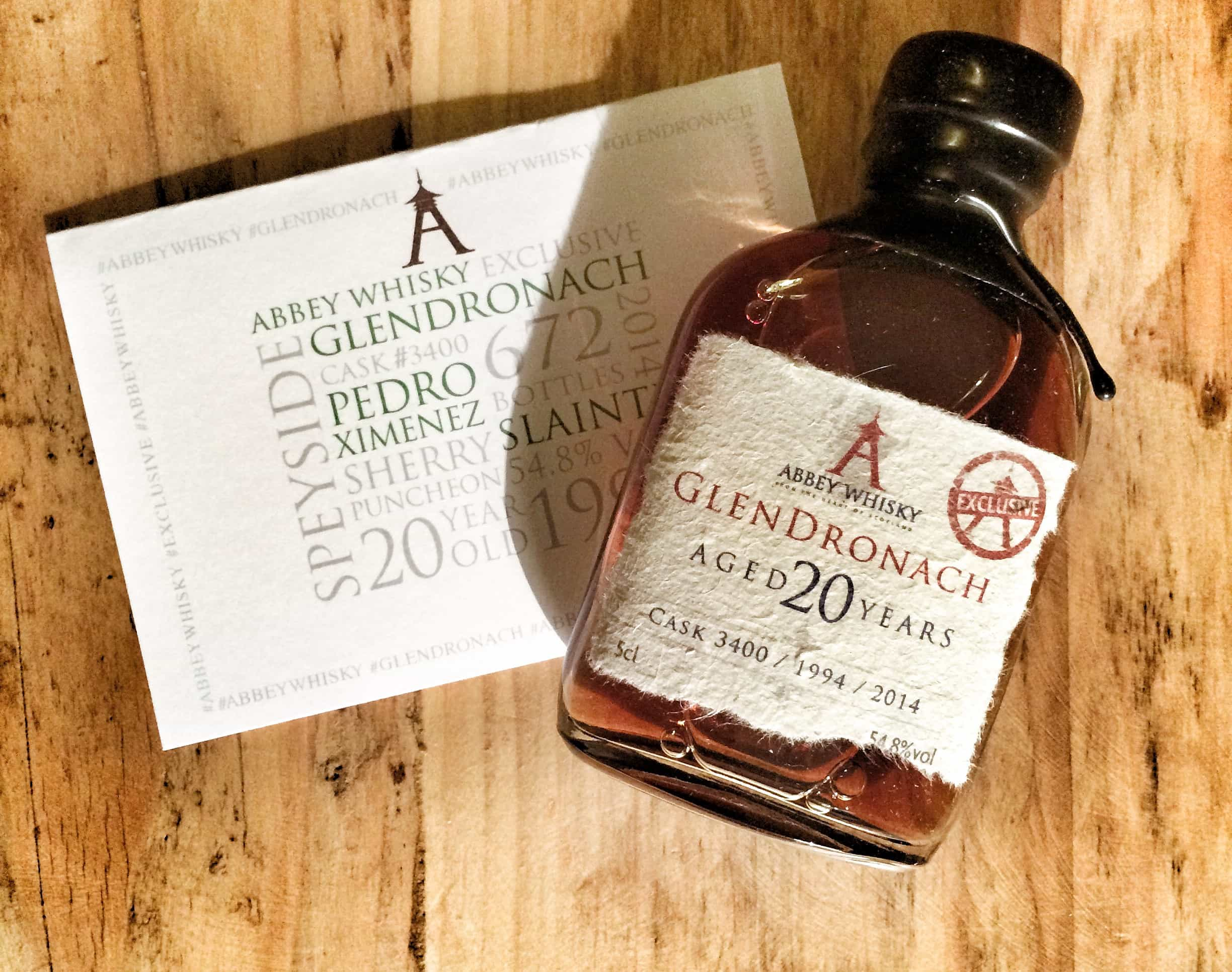 Glendronach 1994 Abbey Whisky