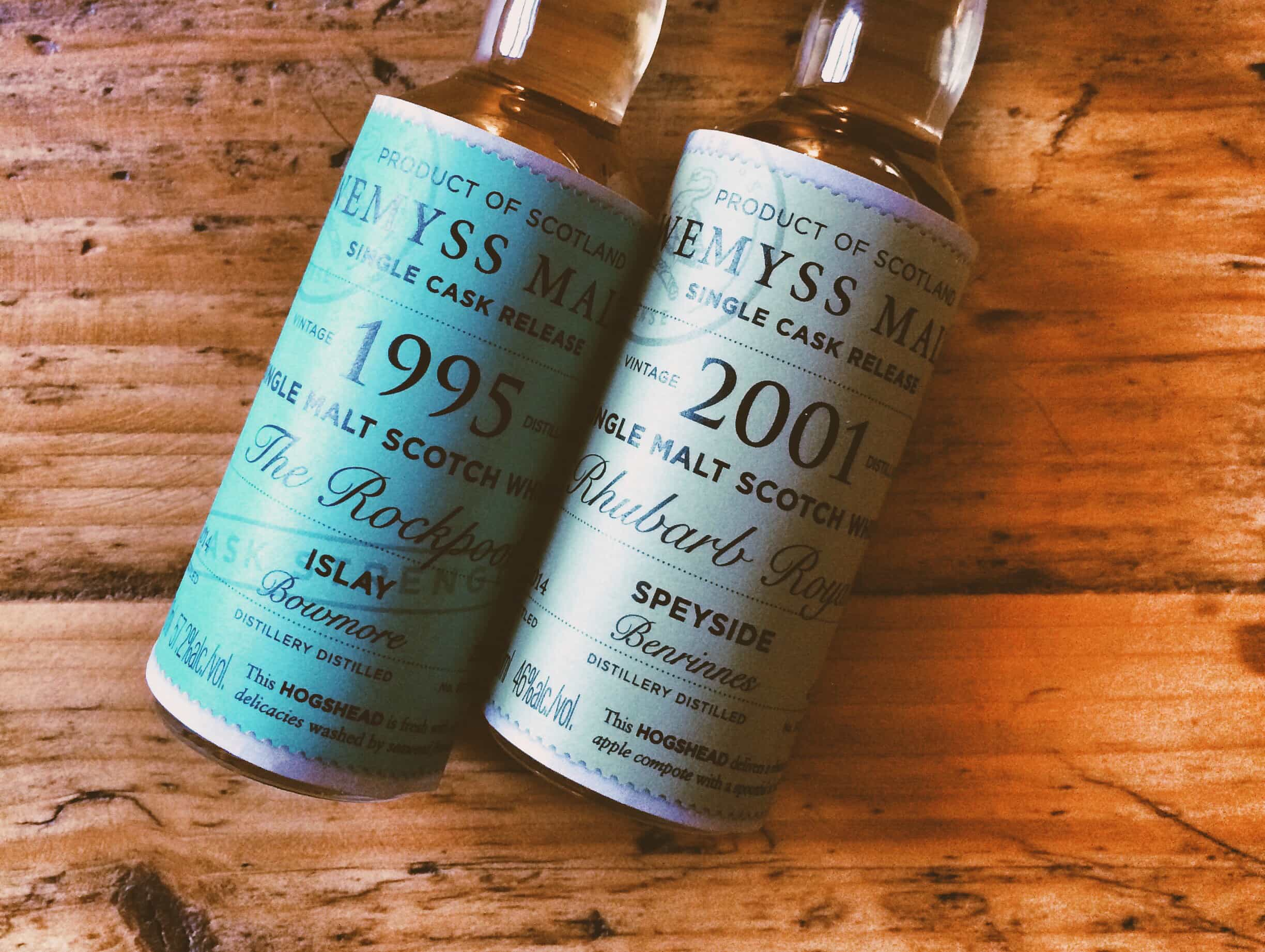 Wemyss Single Cask samples