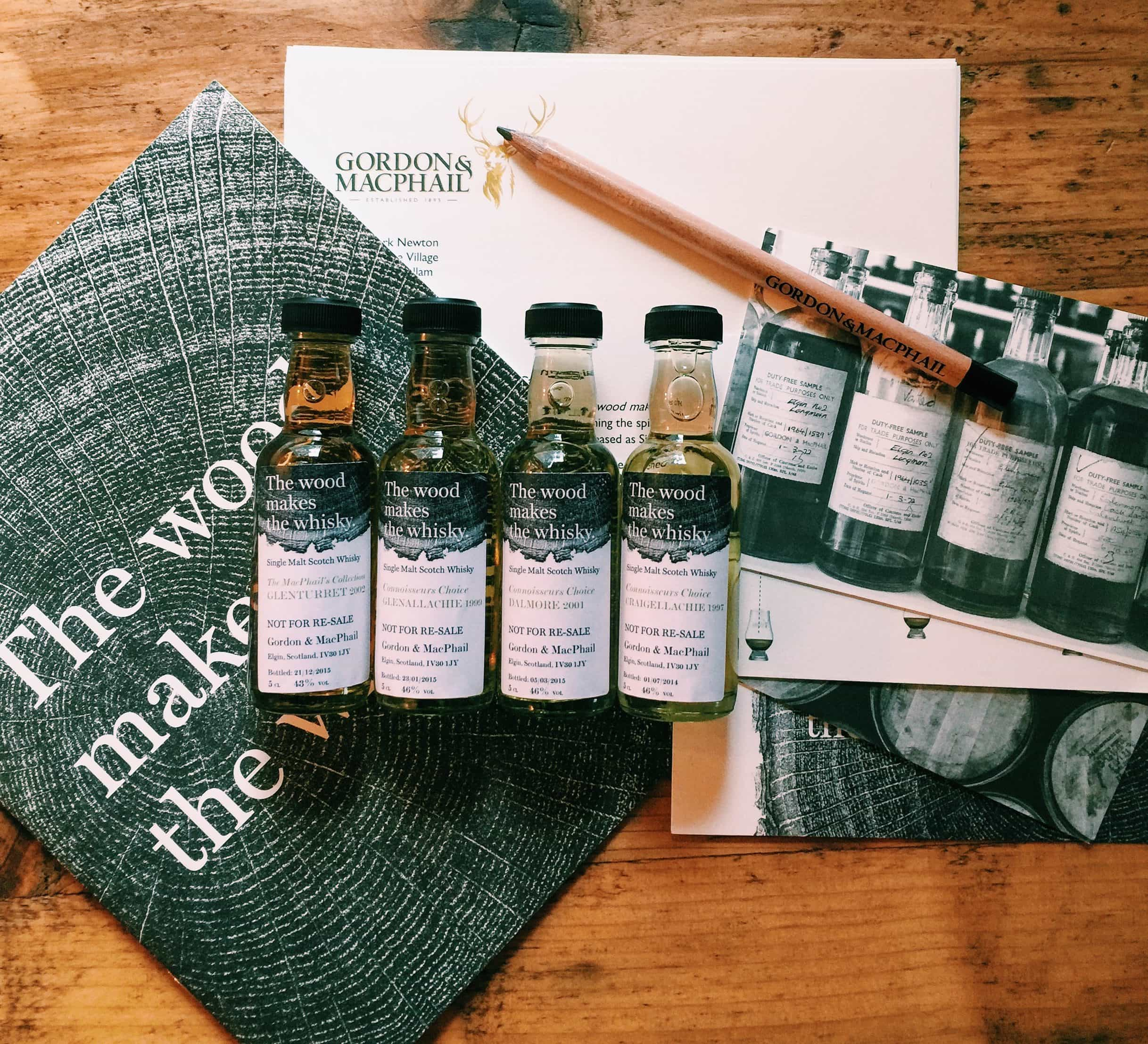 Gordon and MacPhail Wood makes the Whisky
