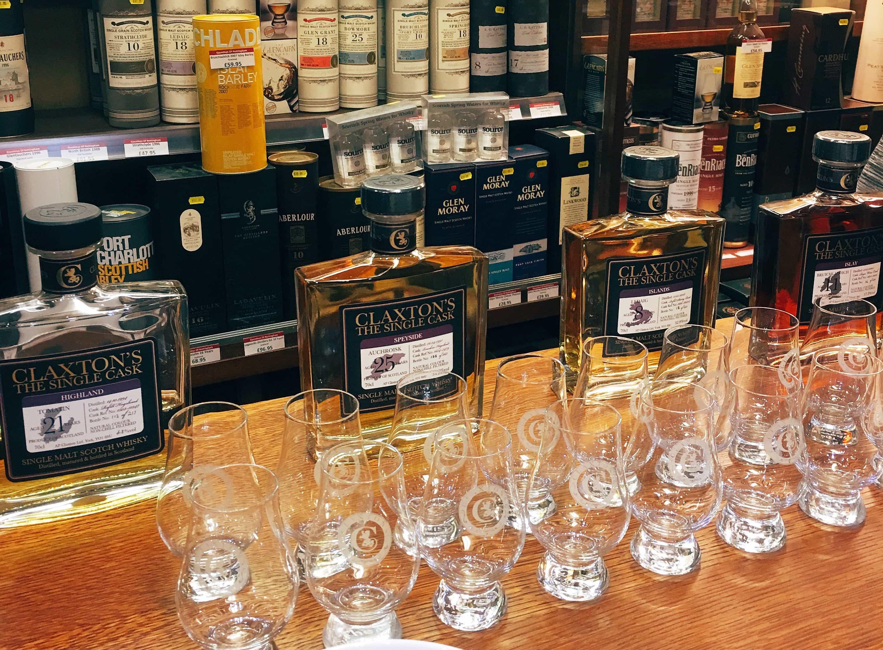 Claxton's Whiskies
