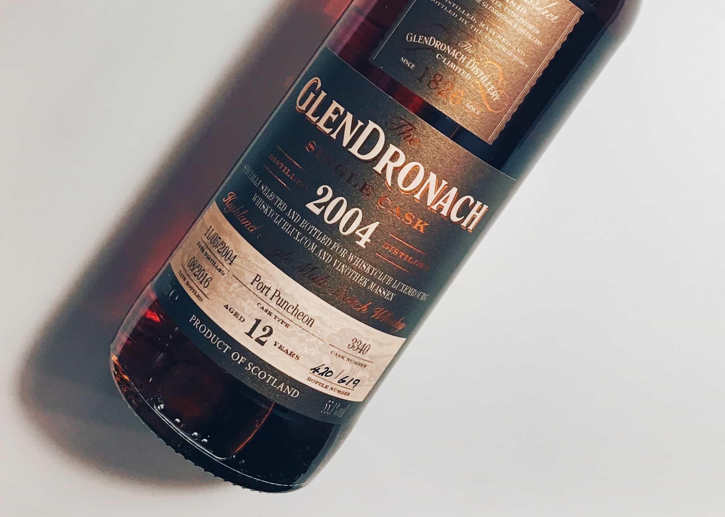 GlenDronach 12 Year Old Single Cask Port Puncheon