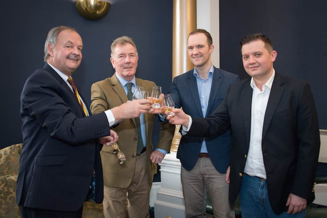 l-r Stewart Laing, Jim McEwan, Andrew Laing, Scott Laing, Photo credit - Ralph Dunning