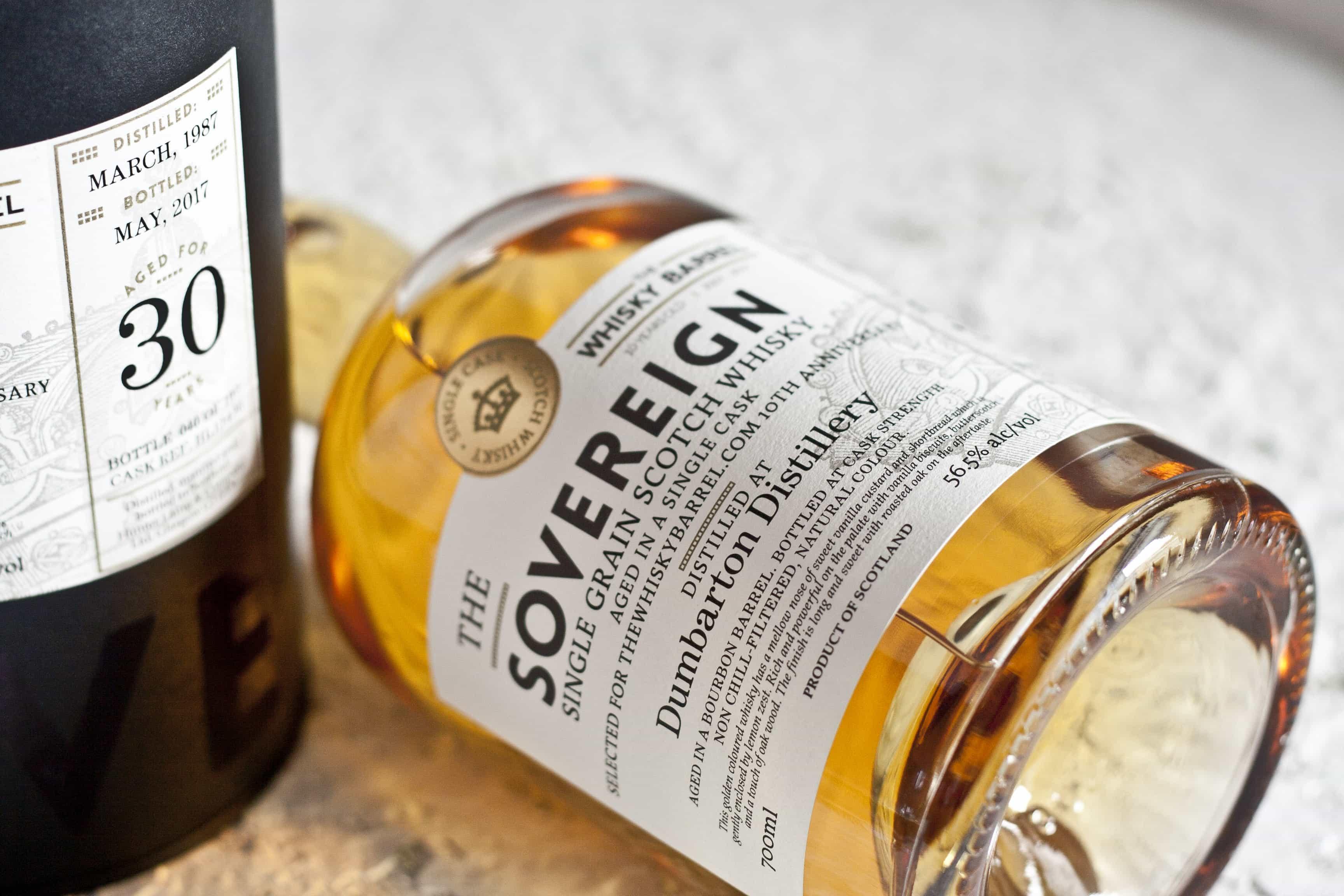Dumbarton 30 Whisky Barrel