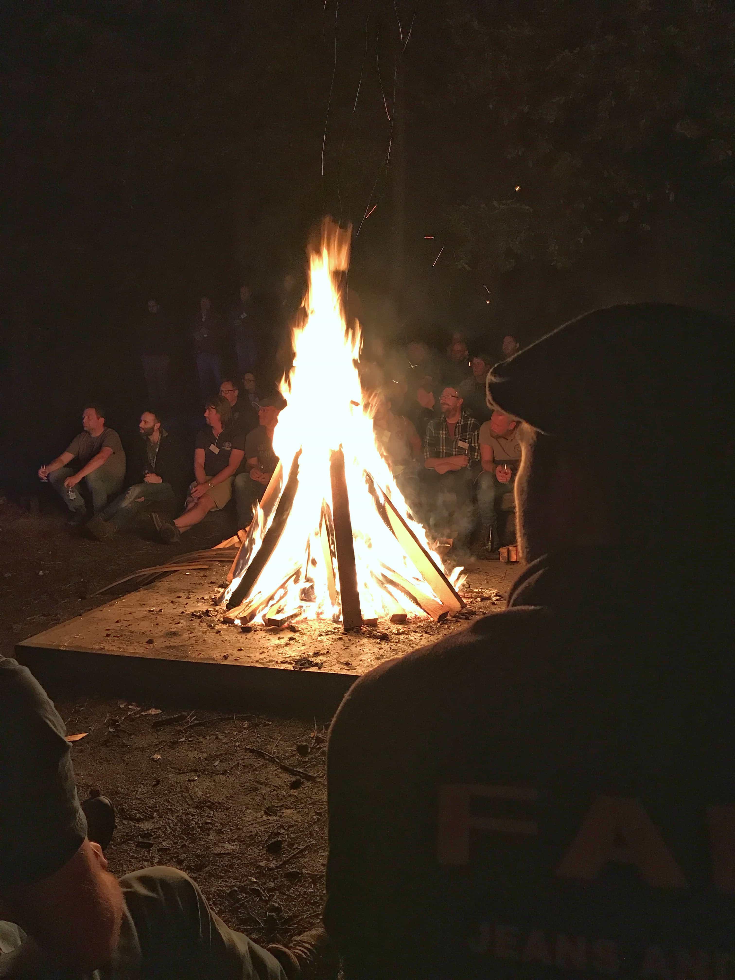 Campfire at Maltstock
