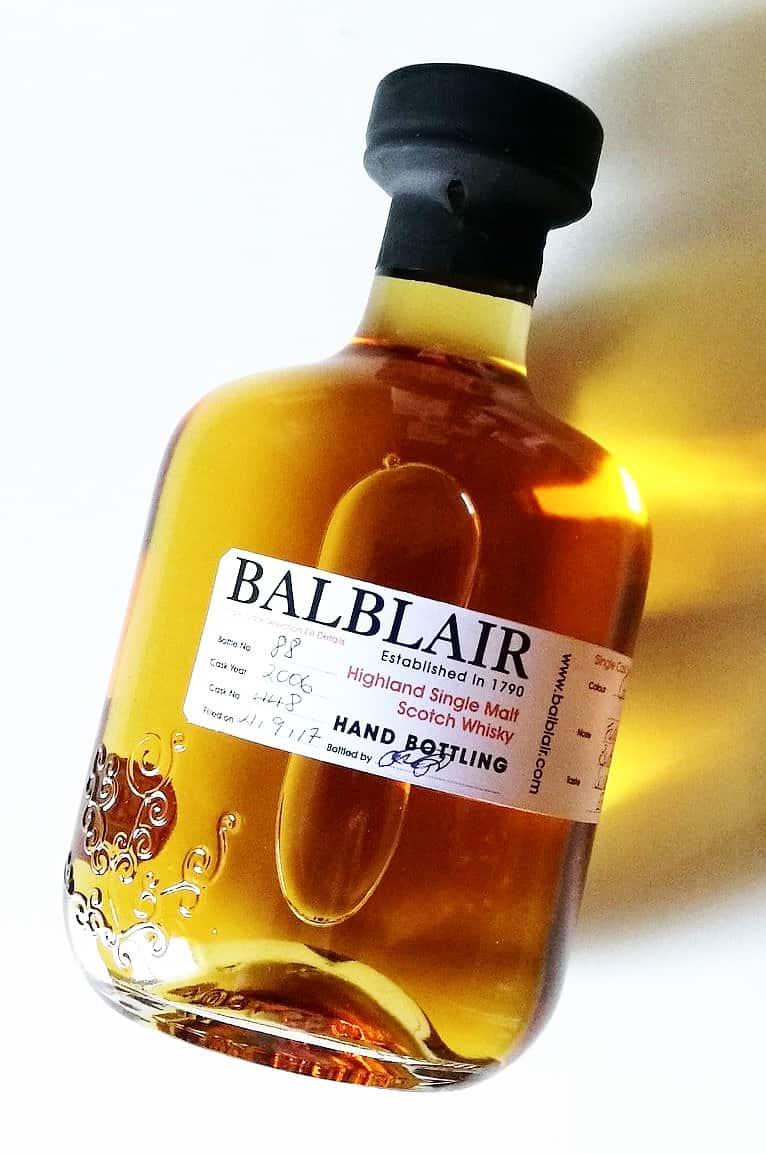 Balblair Hand-filled