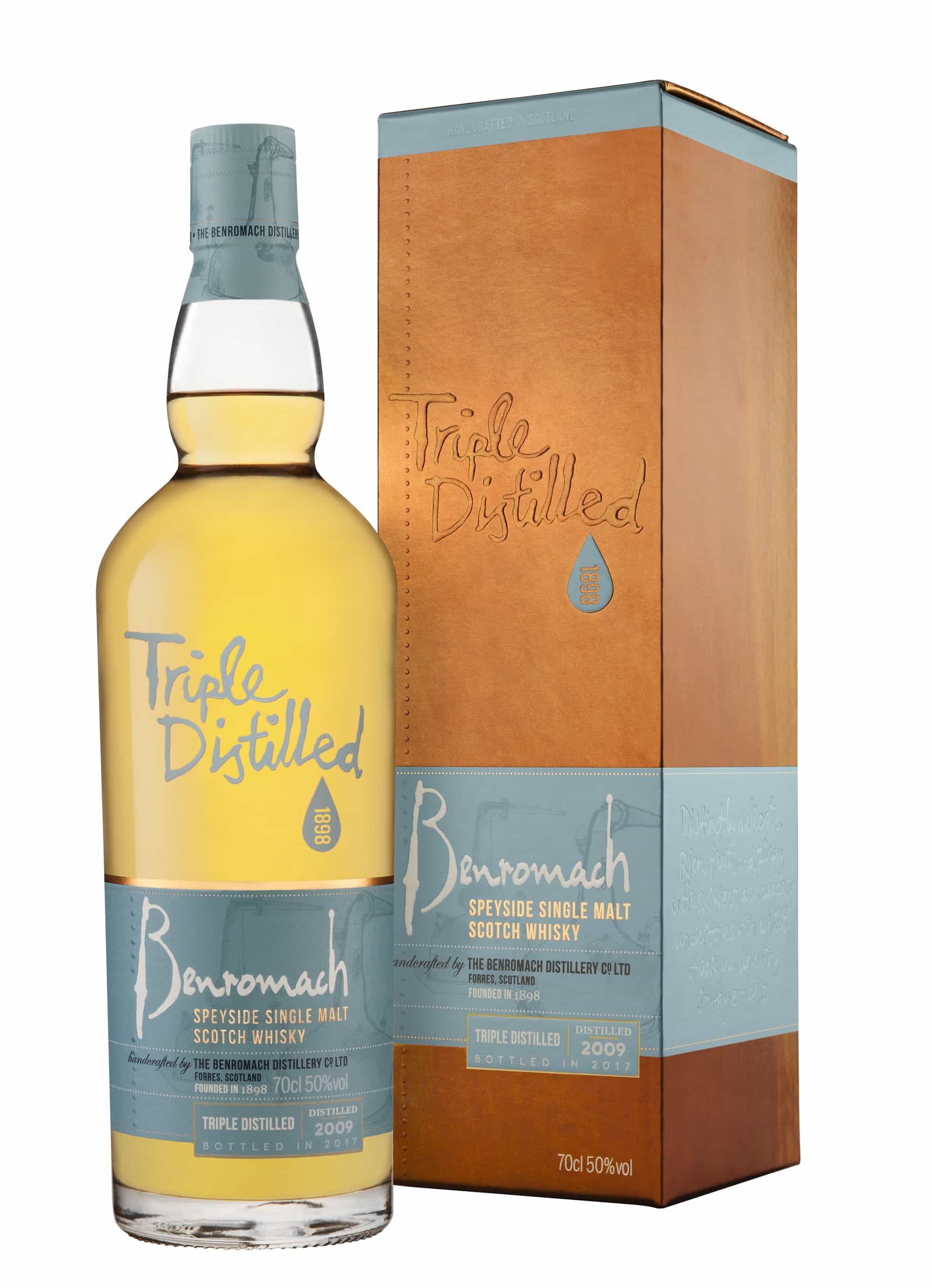 Benromach Triple Distilled